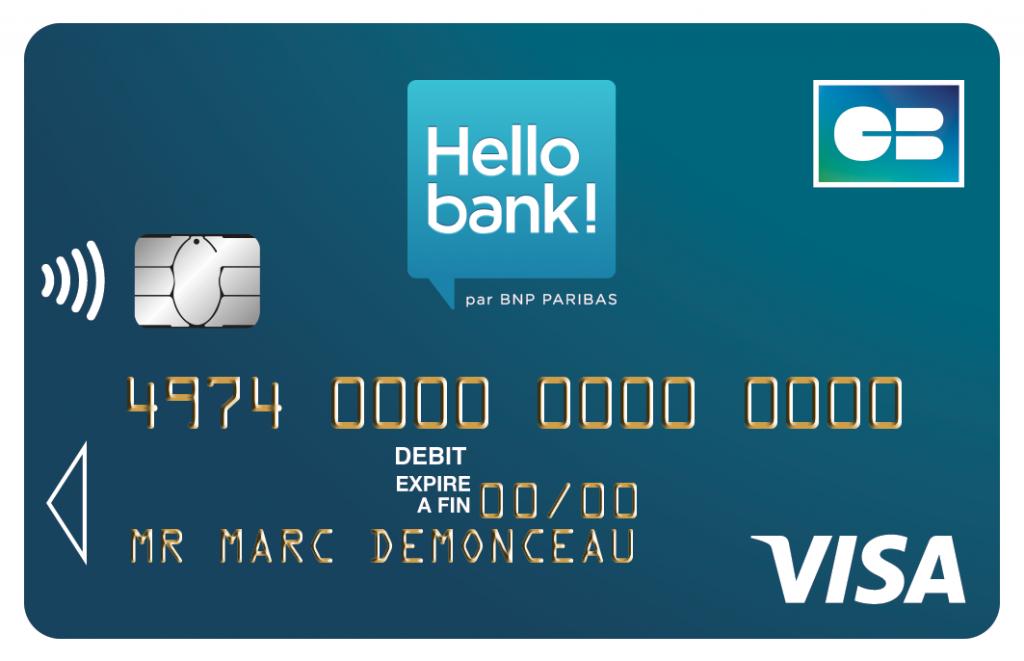 Comment bénéficier d'une carte de crédit Visa Classic chez Hello Bank – Trucs et astuces