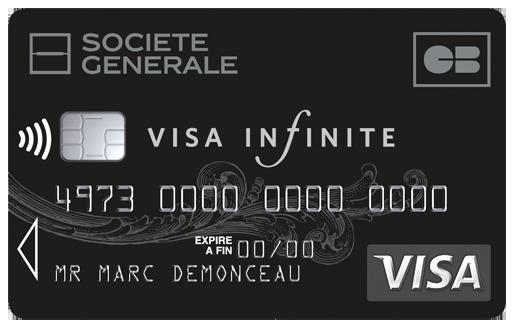 Visa Infinite de la Société Générale