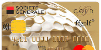 Carte de crédit Gold Mastercard de la Société Générale