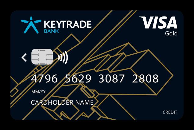 La Carte de Crédit Visa Gold de Keytrade Bank - Caractéristiques et Comment Souscrire