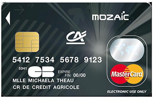 La Carte de Crédit Mozaïc du Crédit Agricole - Caractéristiques et Comment L'obtenir