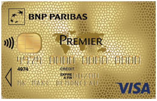 La Carte de Crédit Visa Premier de la BNP Paribas - Comment Souscrire