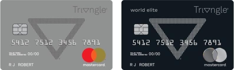 La Carte de Crédit Triangle Mastercard - Caractéristiques et Comment la Commander