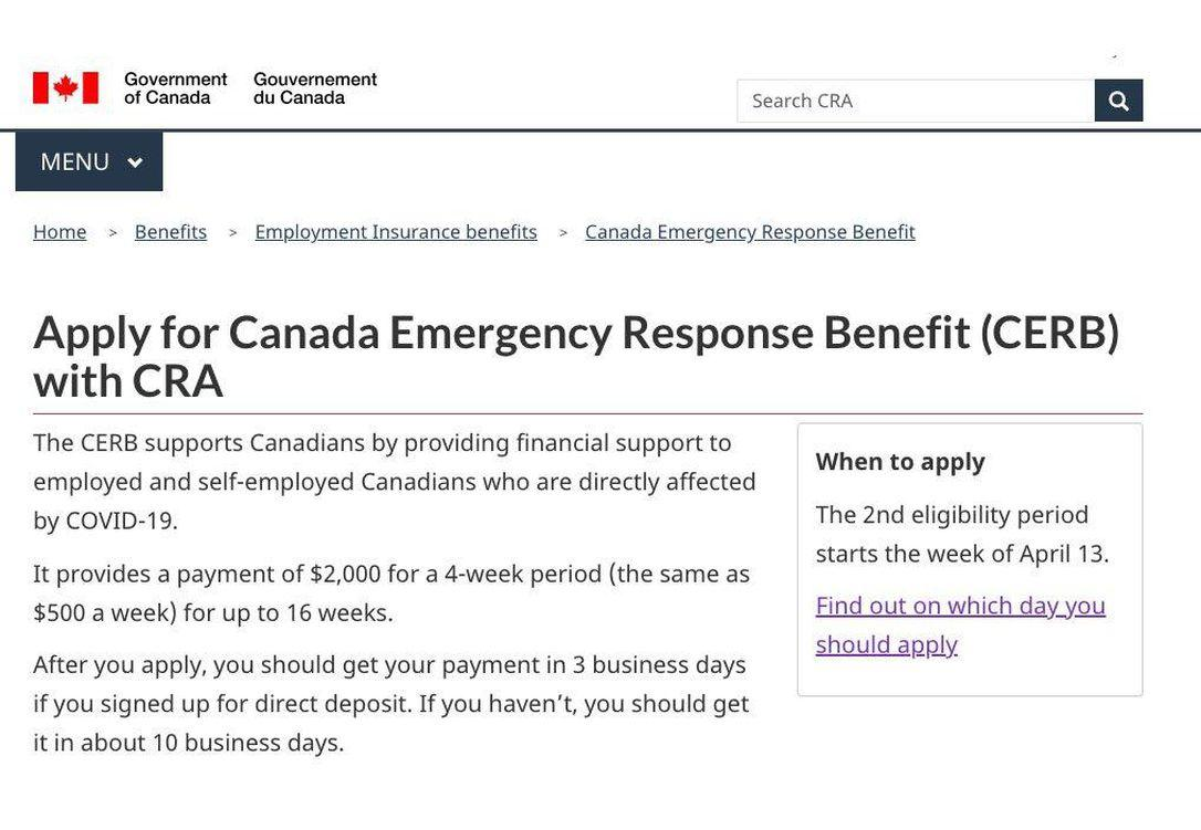 Government Introduces Canada Emergency Response Benefit to Help Workers and Businesses - How to Apply