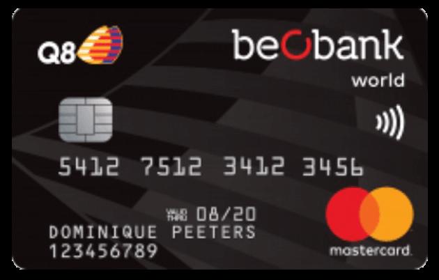 La Carte de Crédit Q8 World Mastercard de Beobank - Découvrez Comment Souscrire à Celle-ci