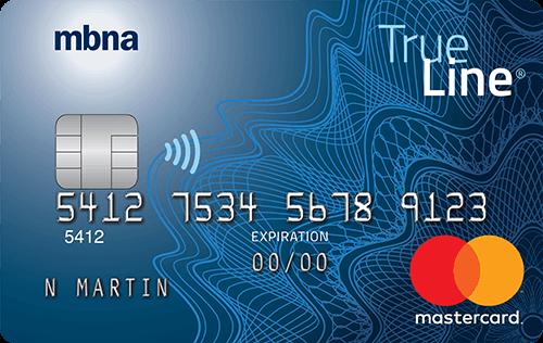 La Carte MBNA True Line Mastercard Sans Frais Annuels - Apprenez-en Plus