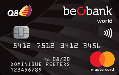 La Carte de Crédit Q8 Beobank - Apprenez Comment la Demander